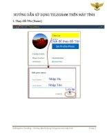 Bitkingdom  hướng dẫn sử dụng telegram trên máy tính