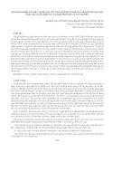 KẾT QUẢ NGHIÊN CỨU GÂY TRỒNG CÂY CỌC RÀO(JATROPHA CURCAS) LÀM NGUYÊN LIỆU SẢN XUẤT DẦU DIESELSINH HỌC TẠI NAM TRUNG BỘ VÀ TÂY NGUYÊN