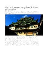 Du lịch nhật bản lâu đài nagoya