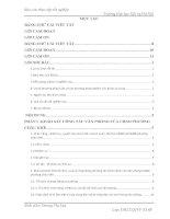 Báo cáo thực tập quản trị văn phòng: Xây dựng văn hoá công sở của các cán bộ công chức Văn phòng UBND Phường Châu Khê