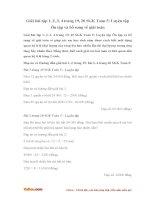 Giải bài tập trang 19, 20 SGK Toán 5: Luyện tập Ôn tập và bổ sung về giải toán