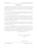 CÔNG tác văn THƯ lưu TRỮ của CÔNG TY cổ PHẦN LIÊN DOANH đầu tư QUỐC tế KLF
