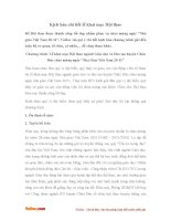 Kịch bản chi tiết lễ khai mạc Hội thao