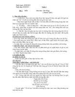 giáo án ngữ văn 8 tuần 3 (chuẩn)   ngữ văn 8   phạm trung thành