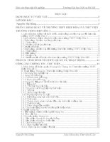 công tác thông tin thư viện trường THPT hiệp hòa số 1