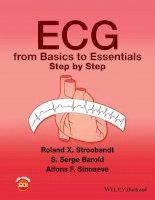 ECG from basics to essentials step by step (january 11, 2016) (1119066417) (wiley blackwell)