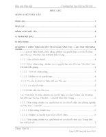 Báo cáo thực tập văn thư lưu trữ tại CHI cục văn THƯ – lưu TRỮ TỈNH bắc GIANG