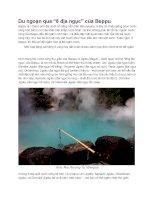 Du lịch nhật bản 8 đại ngục beppu
