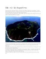 Du lịch nhật bản đảo núi lửa aogashima