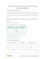 Giải bài tập trang 23, 24 SGK Toán 5: Ôn tập: Bảng đơn vị khối lượng