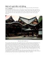 Một số ngôi đền thiêng thần đạo