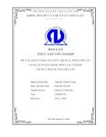 Hoàn thiện tổ chức, bộ máy, biên chế các cơ quan hành chính, đơn vị sự nghiệp thuộc UBND huyện tiên yên
