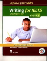 Improve your skill writing for IELTS