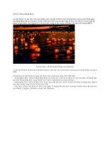 Giới thiệu nhật bản lễ hội obon nhật bản