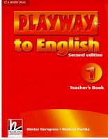 Playway to english 1 teacher s book 2nd ed