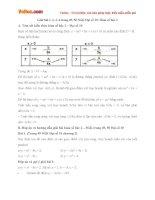 Giải bài tập trang 49, 50 SGK Đại số 10 chương 2: Hàm số bậc hai