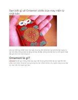 Omamori chiếc bùa may mắn từ nhật bản
