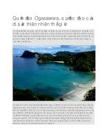 Du lịch nhật bản quần đảo ogasawara