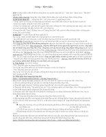 Phân tích đầy đủ bài Làng của Kim Lân (ôn thi lớp )