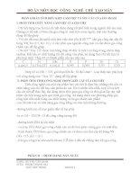 Đồ án công nghệ chế tạo máy  trục khoan ( thuyết minh + bản vẽ)