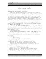 (Đồ án tốt nghiệp XDDD) Thiết kế và thi công  trung tâm hành chính Cà Mau (có bản vẽ kèm theo)