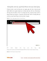 Hướng dẫn cách truy cập iCloud Photos trên máy tính, laptop