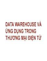 DATA WAREHOUSE và ỨNG DỤNG TRONG THƯƠNG MẠI ĐIỆN TỬ