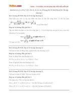 Giải bài tập trang 50, 51 SGK Đại số 10: Ôn tập chương 2