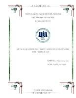 Tiểu luận môn kế toán quốc tế quá trình phát triển và phân tích nội dung  IAS 23 về chi phí đi vay