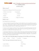 Giải bài tập SGK Tiếng Anh lớp 10 Unit 2: School Talks