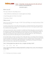 Giải bài tập SGK Tiếng Anh lớp 10 Unit 3: People's background