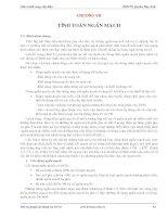 Cung cấp điện  Quyền Huy Ánh  Chương 7