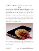 Cách làm móc điện thoại mũ cóicực xinh tặng bạn gái ngày 20-10