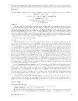 THIẾT kế hệ THỐNG THỦY NHIỆT và CHẾ tạo cấu TRÚC ỐNG NANO TIO2 TRÊN hệ THỦY NHIỆT đó