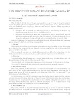 Cung cấp điện  Quyền Huy Ánh  Chương 9