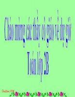 Bài giảng Toán 2 chương 2 bài 14: Bài toán về ít hơn