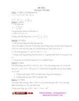 Luyện thi học sinh giỏi toán 9 - 40 đề.