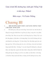 BỒI DƯỠNG kĩ NĂNG TIẾNG VIỆT CHO học SINH GIỎI lớp 5