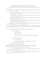 Các dạng toán điển hình và phương pháp giải về dãy số