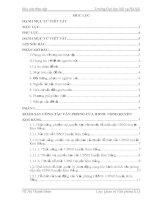 Công tác văn thư của văn phòng HĐND – UBND huyện kim bảng