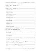 Tìm hiểu về tổ chức công tác văn thư ở UBND huyện sơn dương