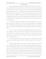 Thực trạng công tác văn thư  lưu trữ của UBND phường Nông Tiến