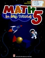 Math in my world 5
