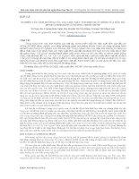 NGHIÊN cứu ẢNH HƯỞNG của vật LIỆU mẫu tới HIỆU SUẤT ĐỈNH của đầu dò HPGE GC3520 BẰNG CHƯƠNG TRÌNH MCNP