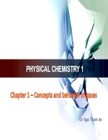 Chapter 1   concepts and behavior of gas