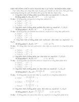 công thức giải nhanh hóa 12 kèm bài tập trắc nghiệm tham khảo có đáp án