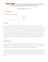 Giải bài tập SGK Tiếng Anh lớp 11: Test Yourself A