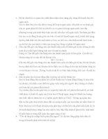 Câu hỏi thi cuối kì TRẮC NGHIỆM kế HOẠCH hóa