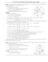 80 bài toán hình có lời giải lớp 9