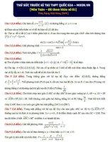 Tuyển tập bộ đề thi thử đại học môn toán của moon